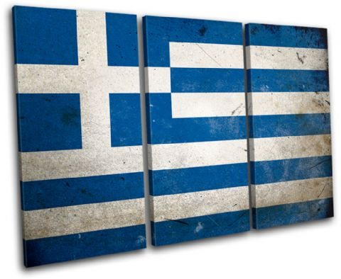 Abstract Greek Greece Maps Flags - 13-1574(00B)-TR32-LO